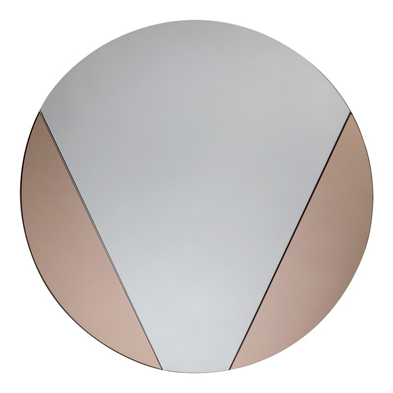 Bronze Round Mirror - Pensford