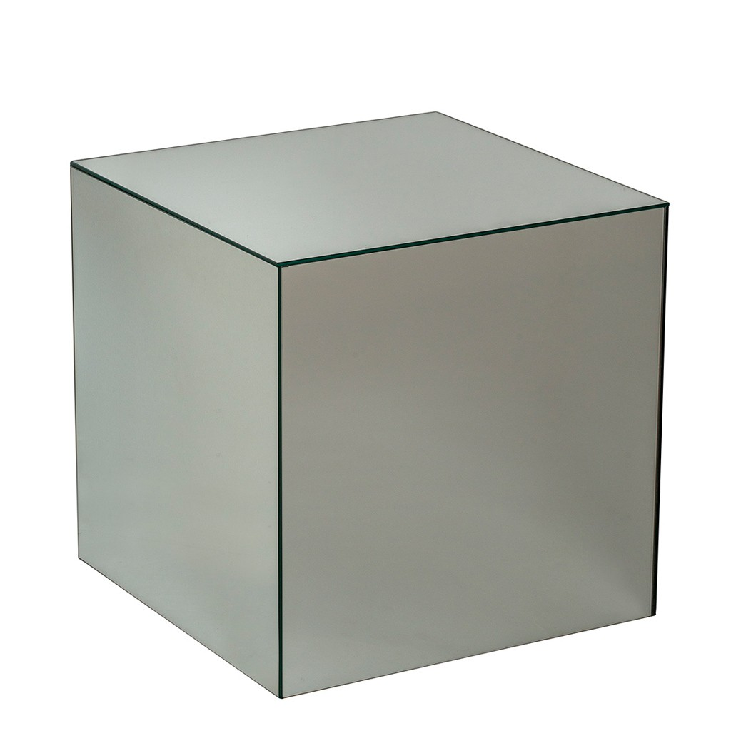 Holcombe Small Silver Mirrored Table