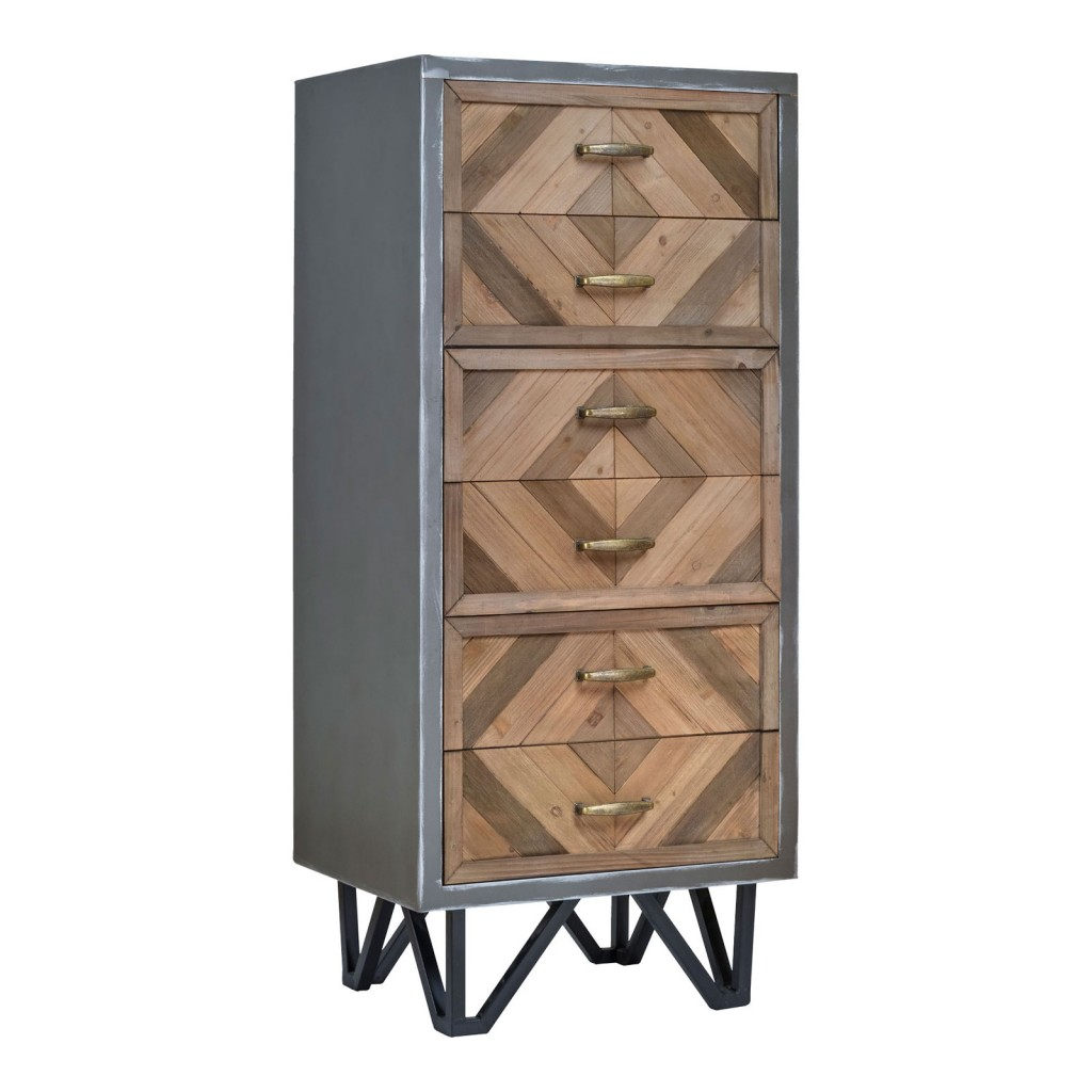 Nyetimber Industrial Tall Chest